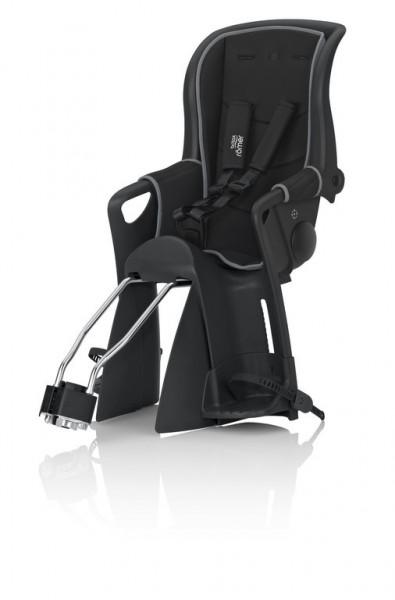 Römer Jockey Relax Kindersitz schwarz Wendebezug schwarz/grau
