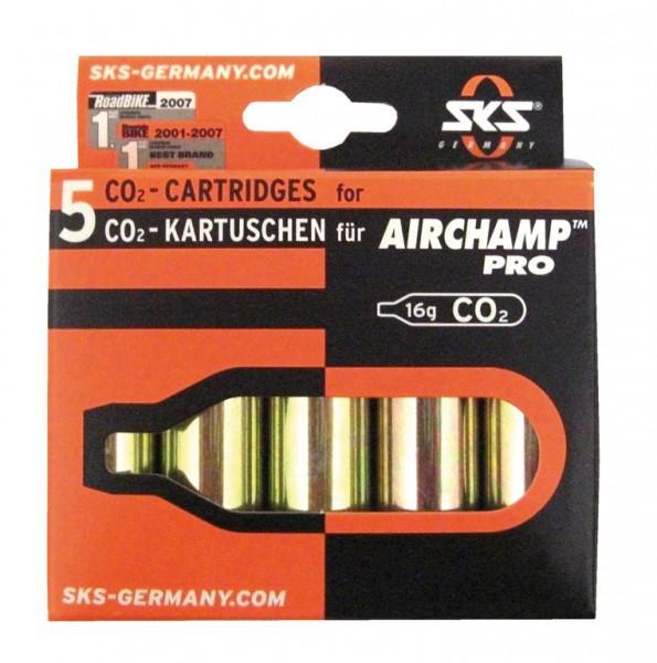SKS Airchamp Kartuschen 5er-Set