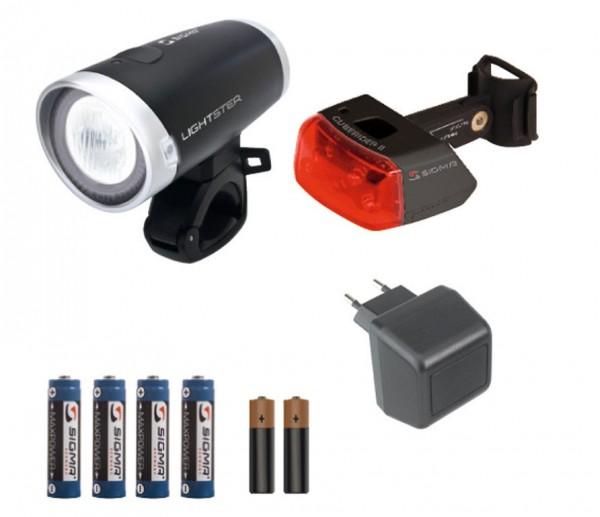 SIGMA LED Komplett-Set Lightster/Cuberider II