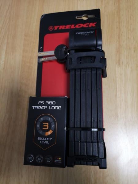 Trelock Faltschloss trigo FS 380 100cm