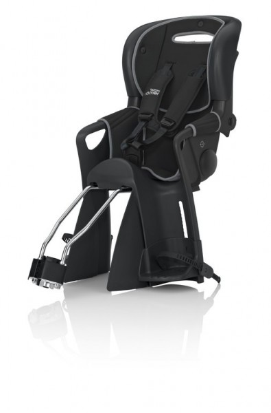 Römer Jockey Comfort Kindersitz schwarz Wendebezug schwarz/grau