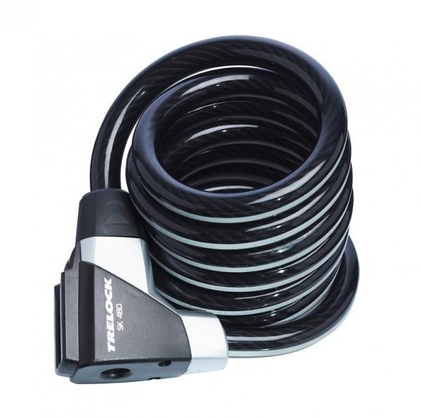 Trelock Spiralkabelschloss SK 480